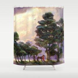 Eternal Shower Curtain
