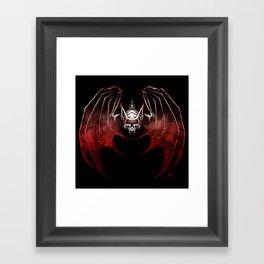 Thee Vampire Guild Bat Icon Framed Art Print