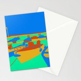 Boats at Lake Garda Stationery Cards