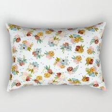 PASTEL FLORALS Rectangular Pillow