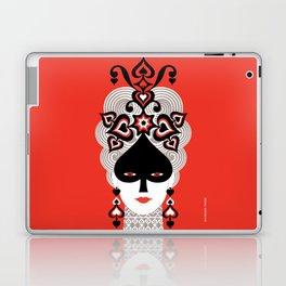 The Queen of spades Laptop & iPad Skin