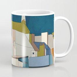 france houses abstract art Coffee Mug