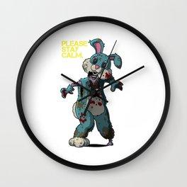 PSC - Happy Bunny Wall Clock