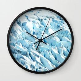 ICE FIELD Wall Clock