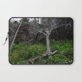 Forest Spirit (Full image skull and trunk) Laptop Sleeve