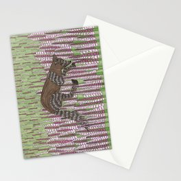 Summer Arctic Fox Stationery Cards