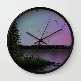 Snowbirds Wall Clock