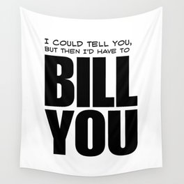 Bill You Wall Tapestry
