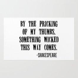 Shakespeare's Halloween Rug