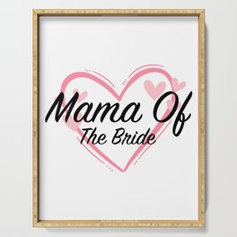 Mama Mother Of The Bride Serving Tray