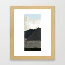 ...to the moles house Framed Art Print
