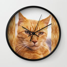 Pissed Ginger Wall Clock
