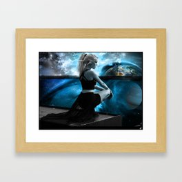At The Universe Framed Art Print