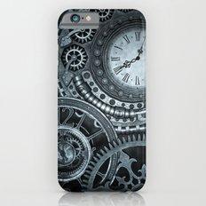 Silver Steampunk Clockwork iPhone 6s Slim Case