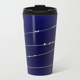 (more) birds on a Wire Travel Mug