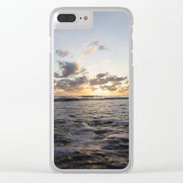 Australian Sunrise Clear iPhone Case