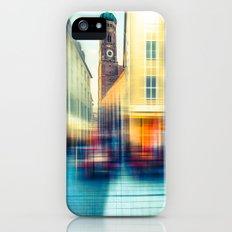 Frauenkirche - Munich - vintage iPhone (5, 5s) Slim Case