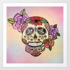 Sweet Sugar Skull Art Print