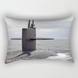 USS ALASKA (SSBN-732) Rectangular Pillow