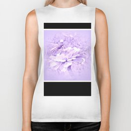 Violet Tones For The Butterfly Biker Tank