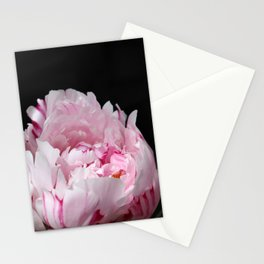 Peonia rosada 4 Stationery Cards