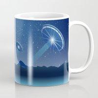ufo Mugs featuring Ufo by JuliaTara
