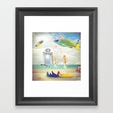 Kundalini Framed Art Print