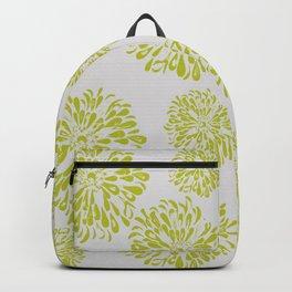 Green Zinnias Backpack
