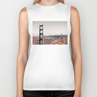 dear Biker Tanks featuring It's in the Water by Bianca Green