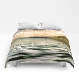 mountain lake 4 Comforters