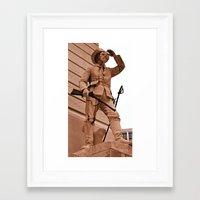 battlefield Framed Art Prints featuring Battlefield by Photaugraffiti