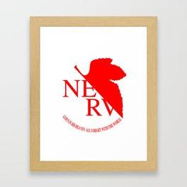 Nerv Framed Art Print
