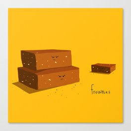 frownies Canvas Print