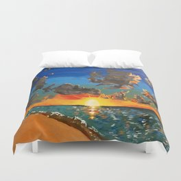 Sunset Beauty Duvet Cover