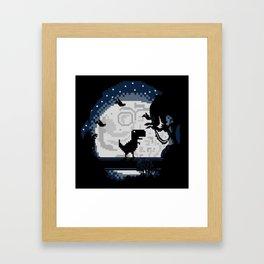 Alone? Framed Art Print