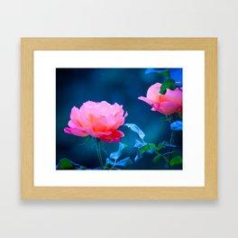 Flowers of early spring Framed Art Print