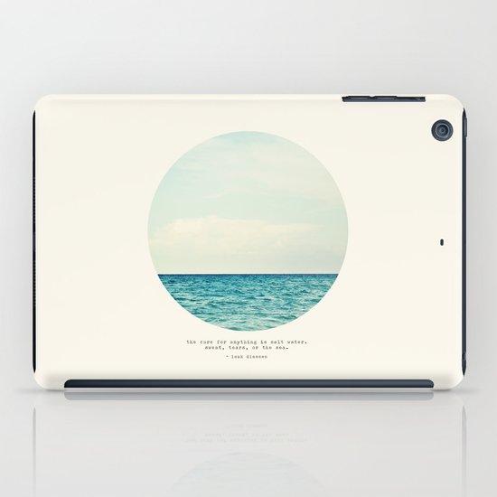 Salt Water Cure iPad Case