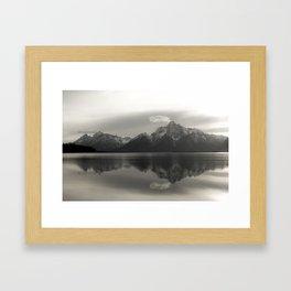Teton Reflection Framed Art Print