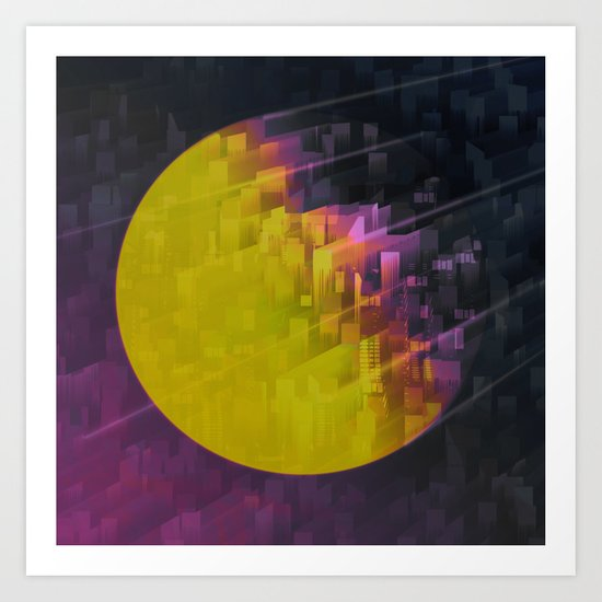 TRAPPIST Connection III Art Print
