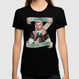 Cleric: Channeling Positive Energy T-shirt