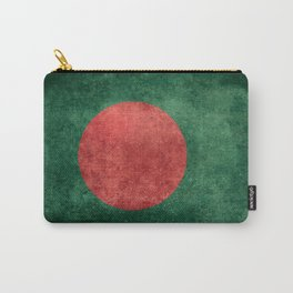 Flag of Bangladesh, Vintage Retro style Carry-All Pouch