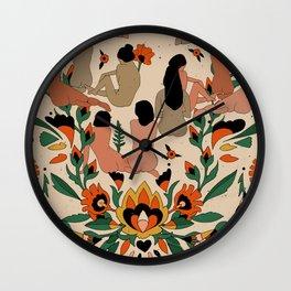 Got Your Back II Wall Clock