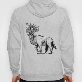 deer god Hoody