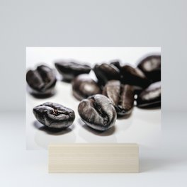 French roast coffee beans Mini Art Print