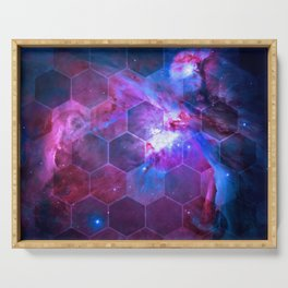 Orion Honeycomb Serving Tray