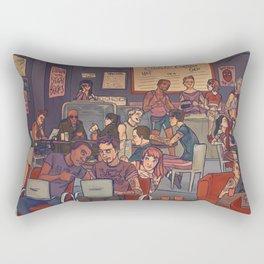 Clint's Coffee Rectangular Pillow