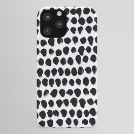 Black Dots iPhone Case