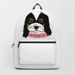 all things Ivy white Backpack