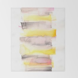 [161216] 20. Sorbet |Watercolor Brush Stroke Throw Blanket