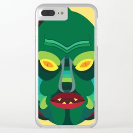 Gill-Man Clear iPhone Case